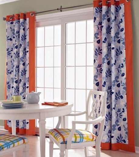 Decorating window covering for door : Window Treatments for Sliding Doors | Centsational Girl