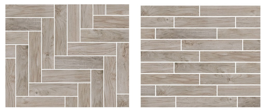 patterns for wood plank tile - House Progress + Flooring Decisions Centsational Girl