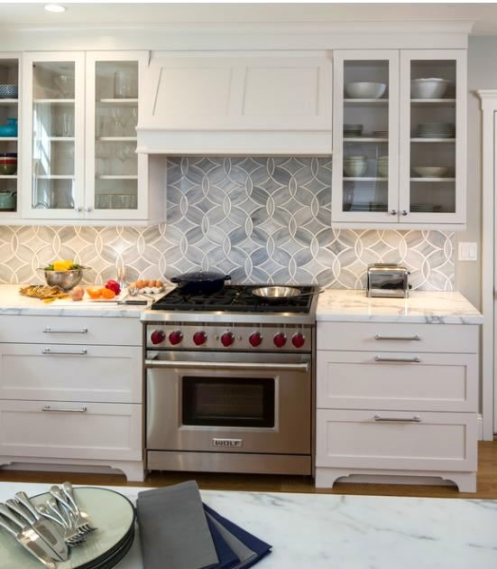 Kitchen range hood options centsational girl - Kitchen hood under cabinet ...