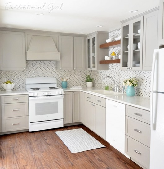 gray kitchen remodel