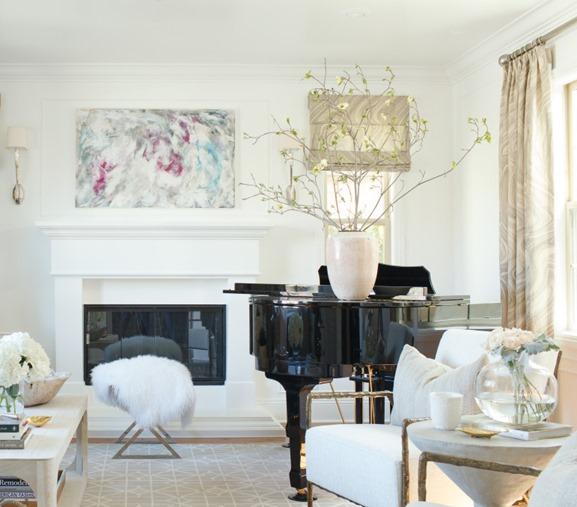 american living room piano - photo #12