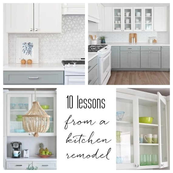 kitchen remodel 10 lessons