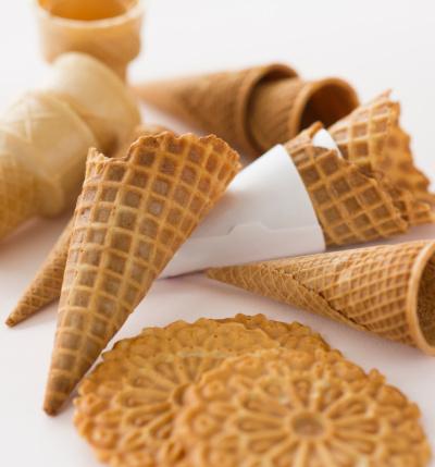Barquillos cucurucho o conos para el helado cerotacc - Calorias de un cono de helado ...