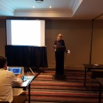 Vigdis Kvalheim, from Norwegian Centre for Research Data (NSD) and project's WP3 leader