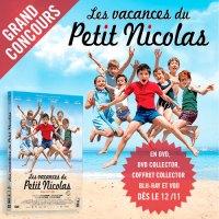 Les vacances du petit Nicolas #concours