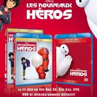 2 dvd Les nouveaux héros de Disney à gagner !