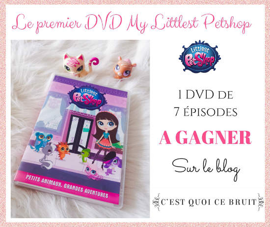 DVD Littlest Pet Shop et coloriages