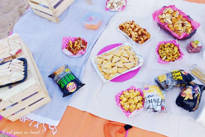 Organiser un pique-nique à la plage pour son anniversaire