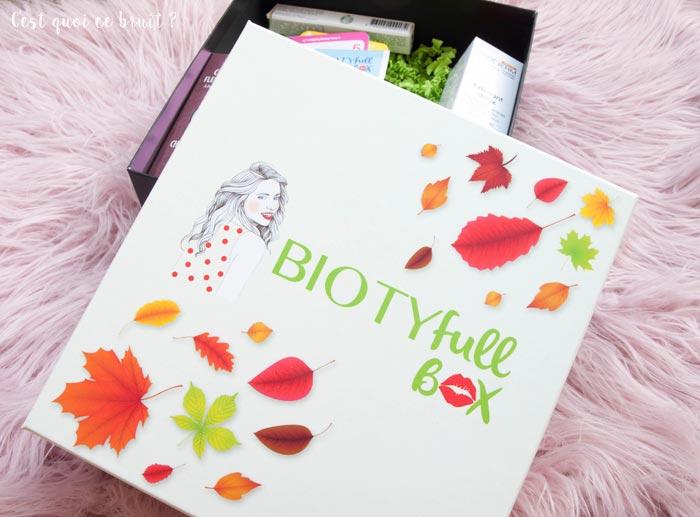 Faut-il craquer sur la Biotyfull Box de septembre (Naturelle) ?