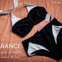Maillots et lingerie post cancer du sein avec Garance #octobrerose