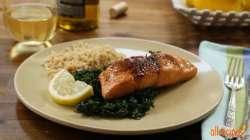 Hilarious Salmon Salmon Quiche Salmon Brown Sugar Glaze Recipe What Goes Good Rice What Goes Good