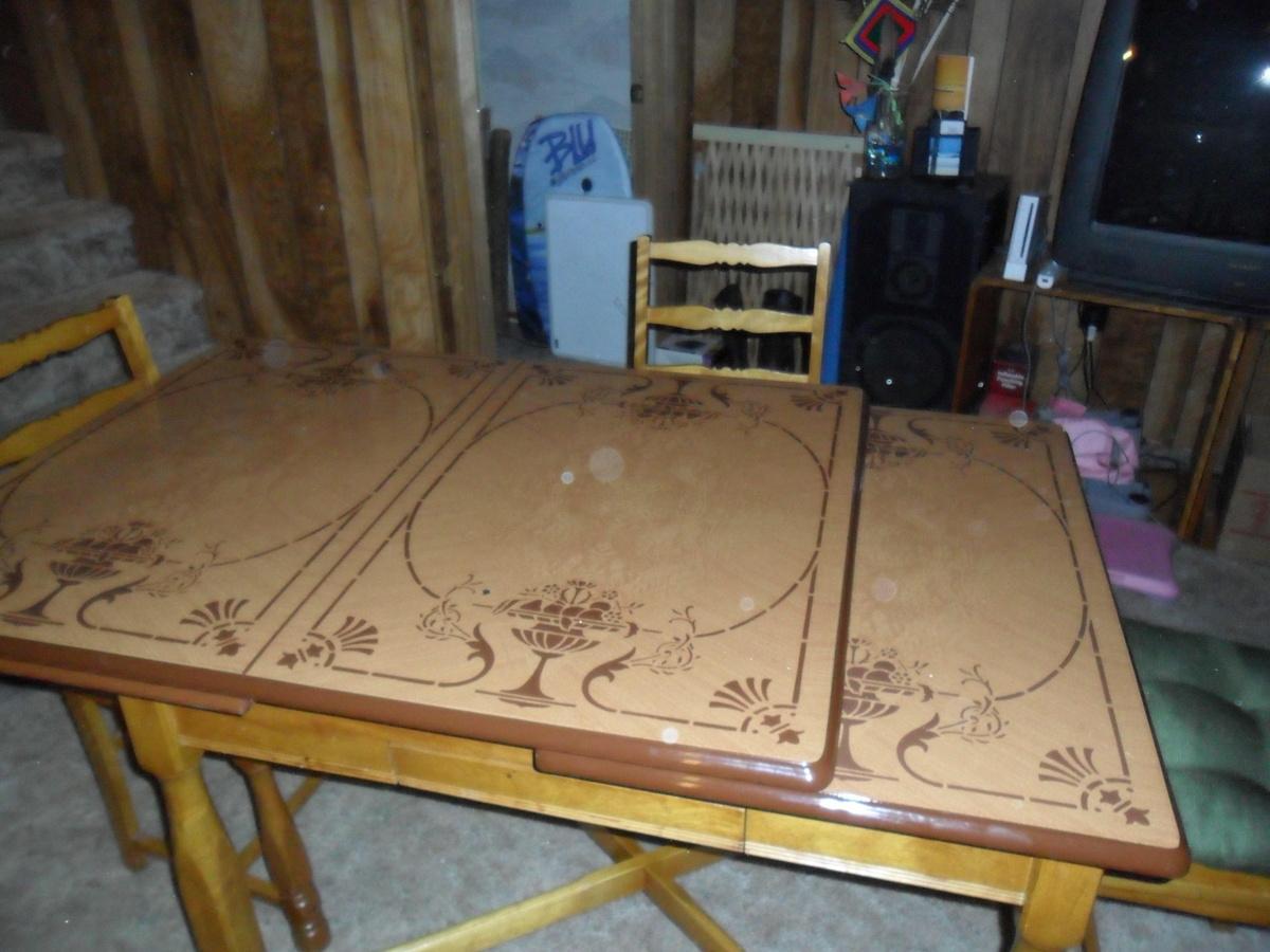 vintage metal top kitchen table metal kitchen table