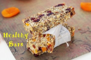 Homemade Healthy Snack Bars