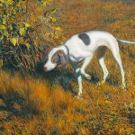 Armando Menocal, Cuca Parando una Codorniz (Cuca Retrieving a Quail), 1915, oil on canvas, 35¼ x 48 inches. Private Collection, Miami, Florida. Image courtesy of Cernuda Arte