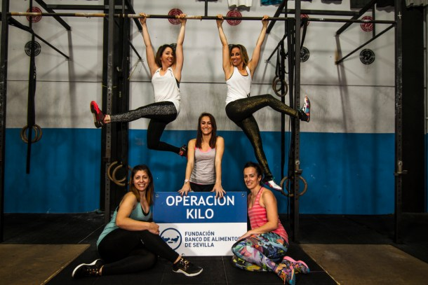 Wod CFS box crossfit girls banco alimentos solidarios
