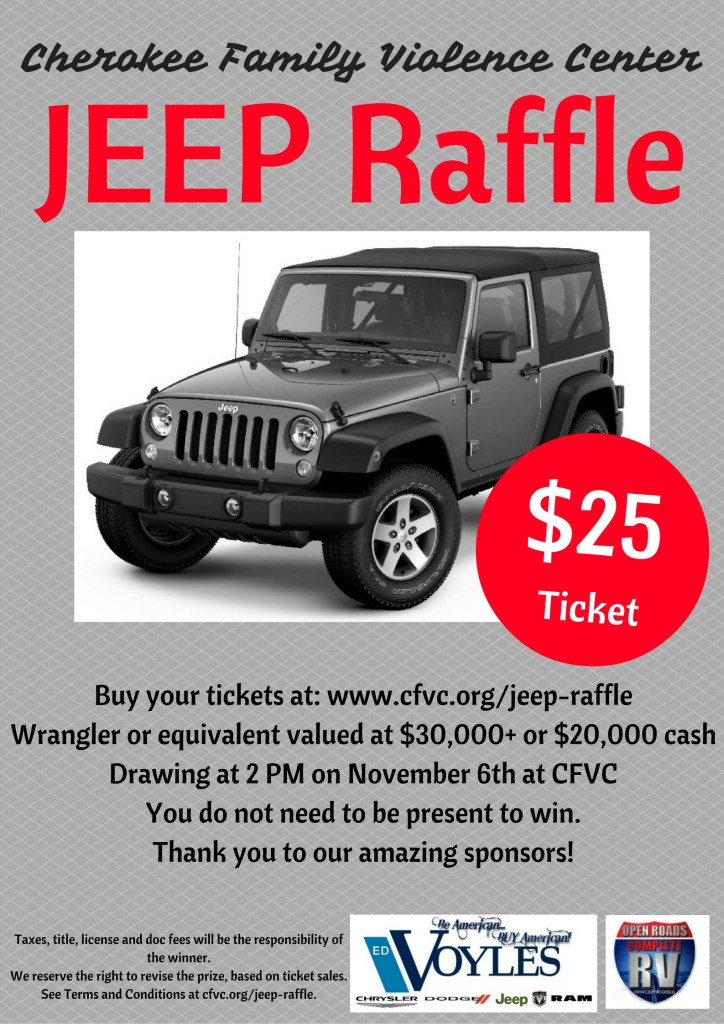 JEEP Raffle Poster