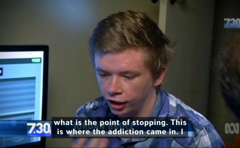 Videogame Skins Gambling 7.30 Report ABC Australia Commentary