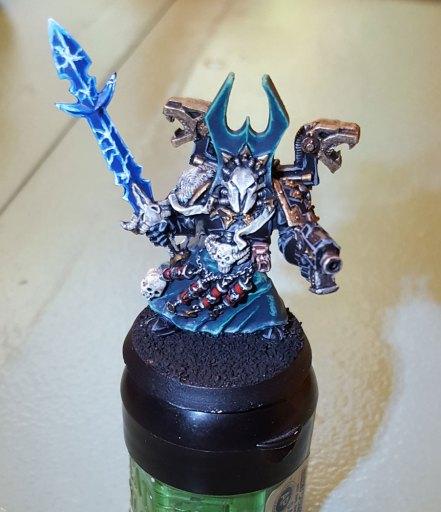 Sorcerer, in progress, front