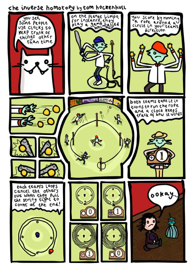 Chalkdust comic part 3 panel 1