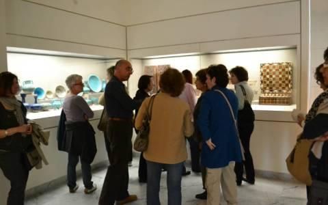 Το Εργαστήρι Τέχνης Χαλκίδας επισκέφθηκε τα μουσεία Ισλαμικής Τέχνης, Κεραμεικής και το Ναό Ασωμάτων