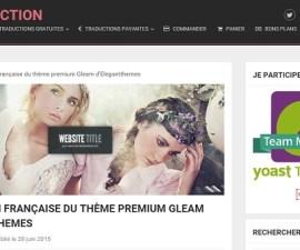Trouvez la traduction française de votre thème Elegantthemes sur WP Traduction
