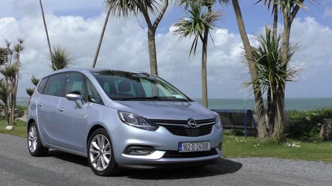 2017 Opel Zafira Tourer Review Ireland