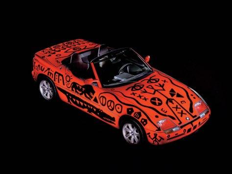 A R Penck BMW Art Car