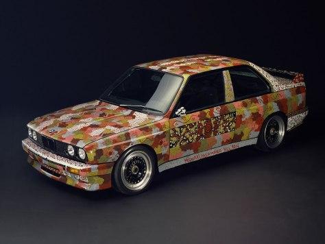 Michael Jagamara Nelson BMW Art Car