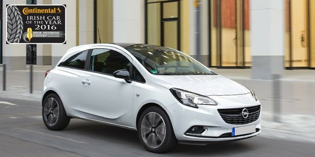 Opel Corsa Continental Irish Small Car Of The Year 2016