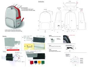 Slazenger bag specifications
