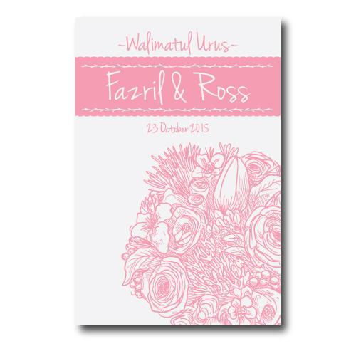 Kad Kahwin Floral 12