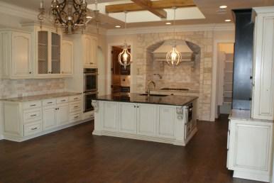 Painted kitchen