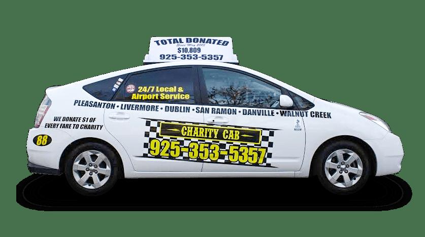 Charity Cab Prius
