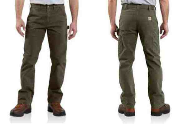 Carhartt Washed Twill Dungaree Work Pants
