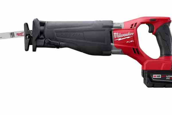 The Milwaukee Sawzall Goes Cordless