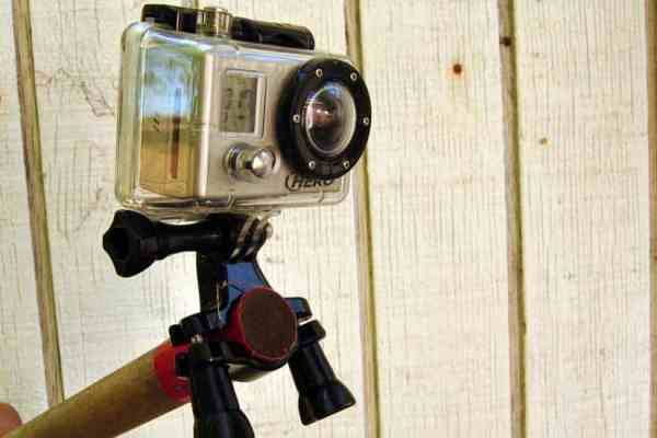 Do-It-Yourself GoPro Pole Mount