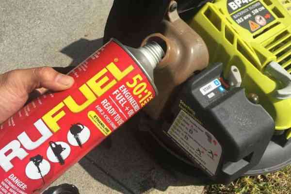 Save Your Power Equipment Engines and Use a Pre-Mix Fuel