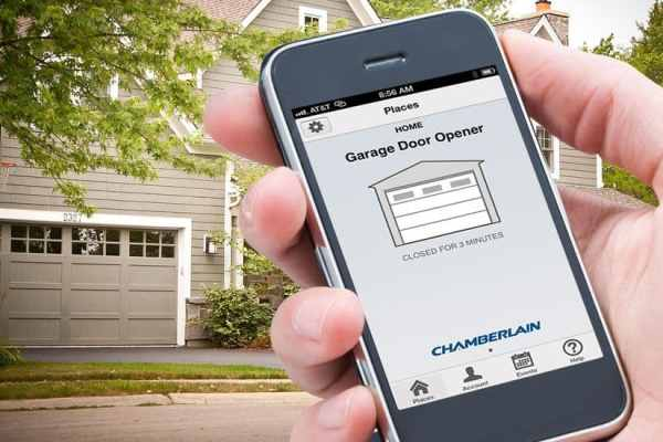 Chamberlain WiFi Garage Door Opener with Smartphone Control