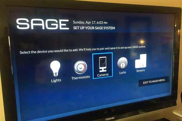 Monitor Your Residence While You're Home and Away with SAGE by Hughes