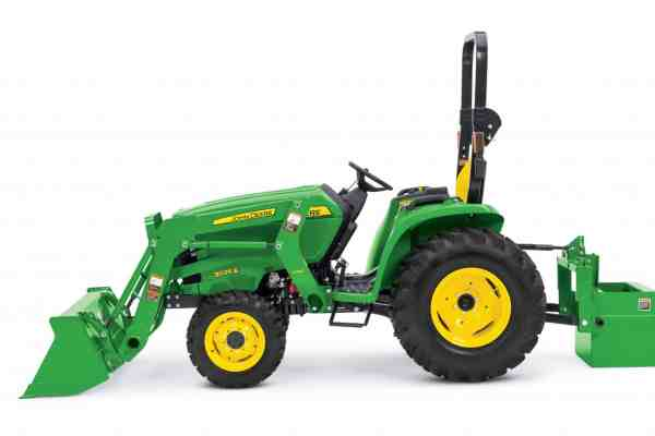 First Look: John Deere 3025E Utility Tractor
