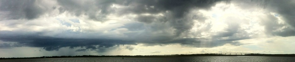 Storms and Sun on the Ashley River