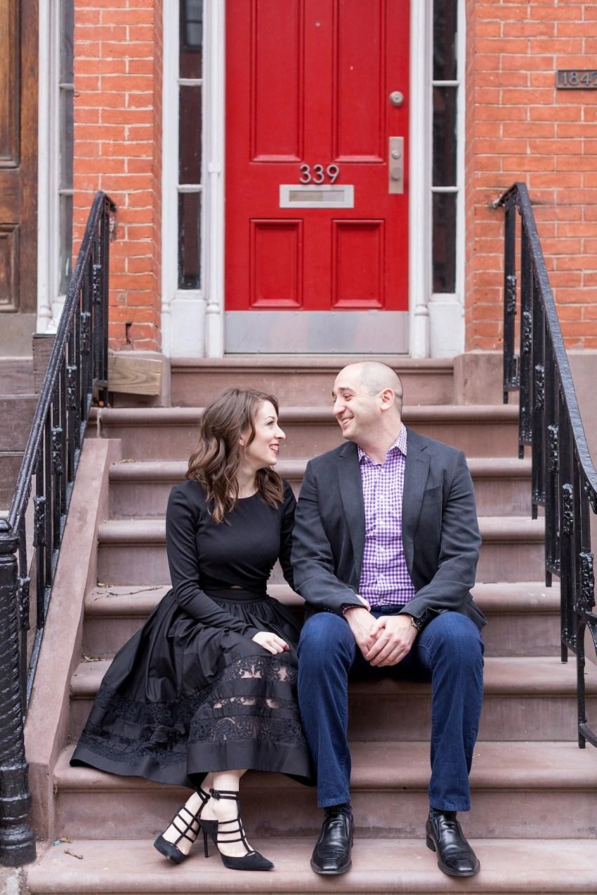 Stylish New York Engagement Portraits, Charlie Juliet Photography