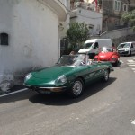 British Racing Green classic Alfa