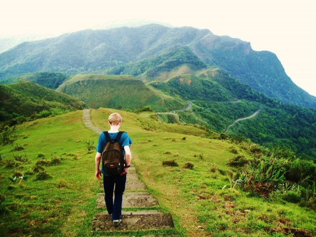 Hiking Caoling Trail Taiwan - Charlie on Travel
