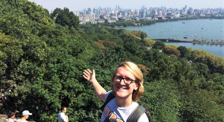 Mitch Labiak teaching in China interview - Charlie on Travel 5