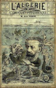 Jules Verne magazine cover