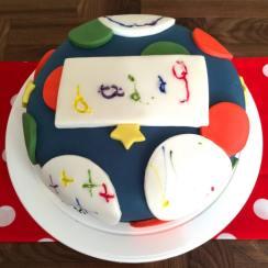 daddy birthday cake square