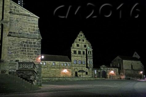 Unterwegs mit dem Nachtwächter, Alte Hofhaltung Bamberg, Autor: Charlotte Moser
