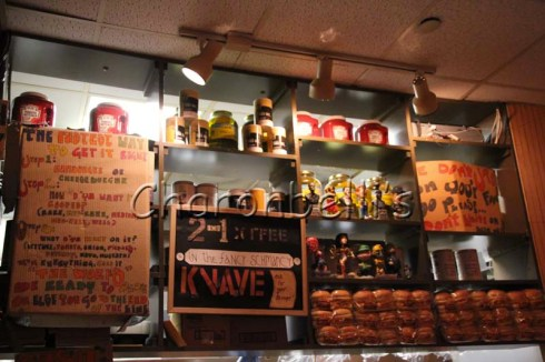 Burger Joint Parker Meridien New York - Charonbelli's blog voyages