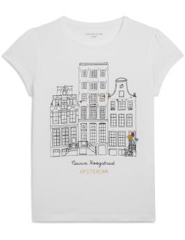 T-shirt manches courtes Monoprix - Back to school - Charonbelli's blog mode